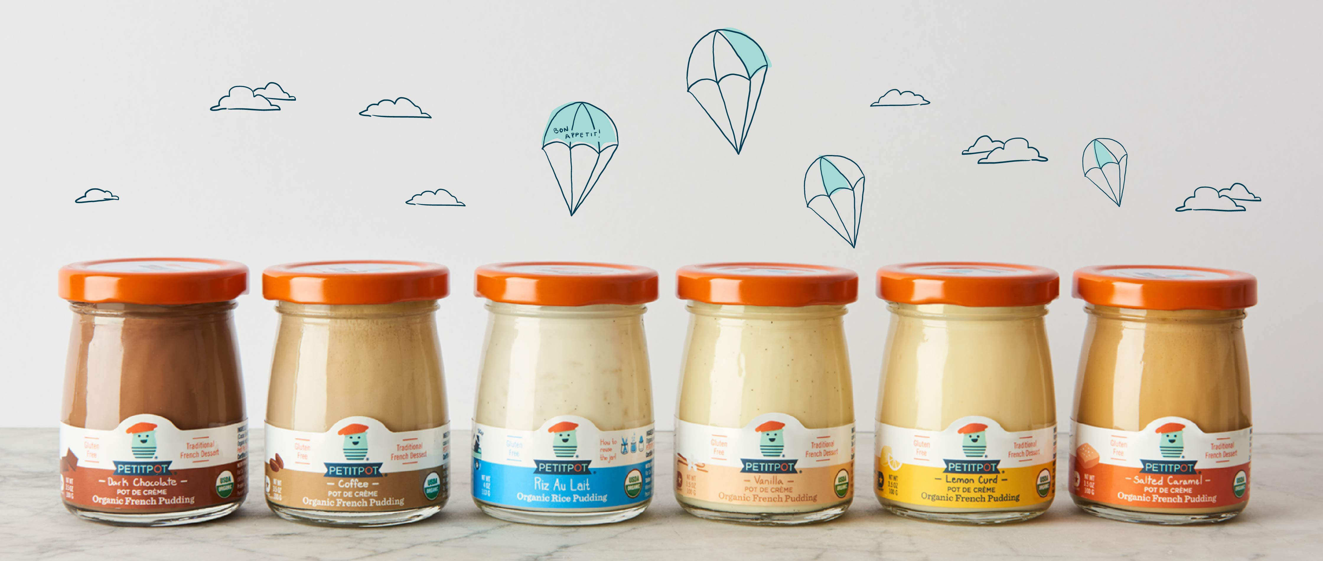 label and product photography for Petitpot
