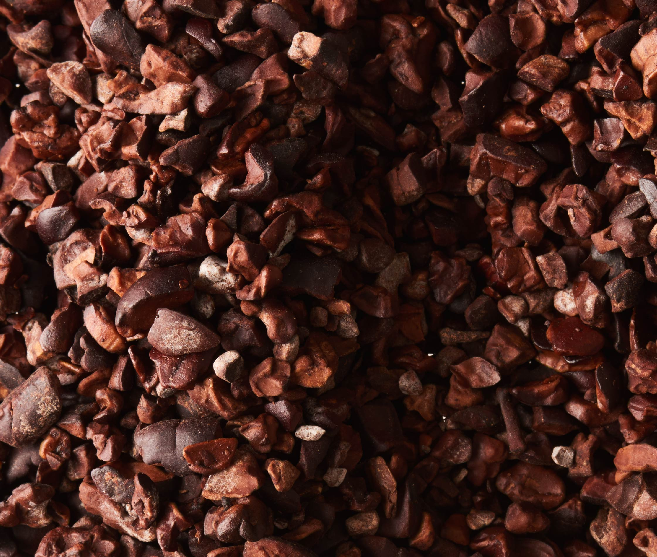 Photography of cocoa nibs for Tcho chocolate