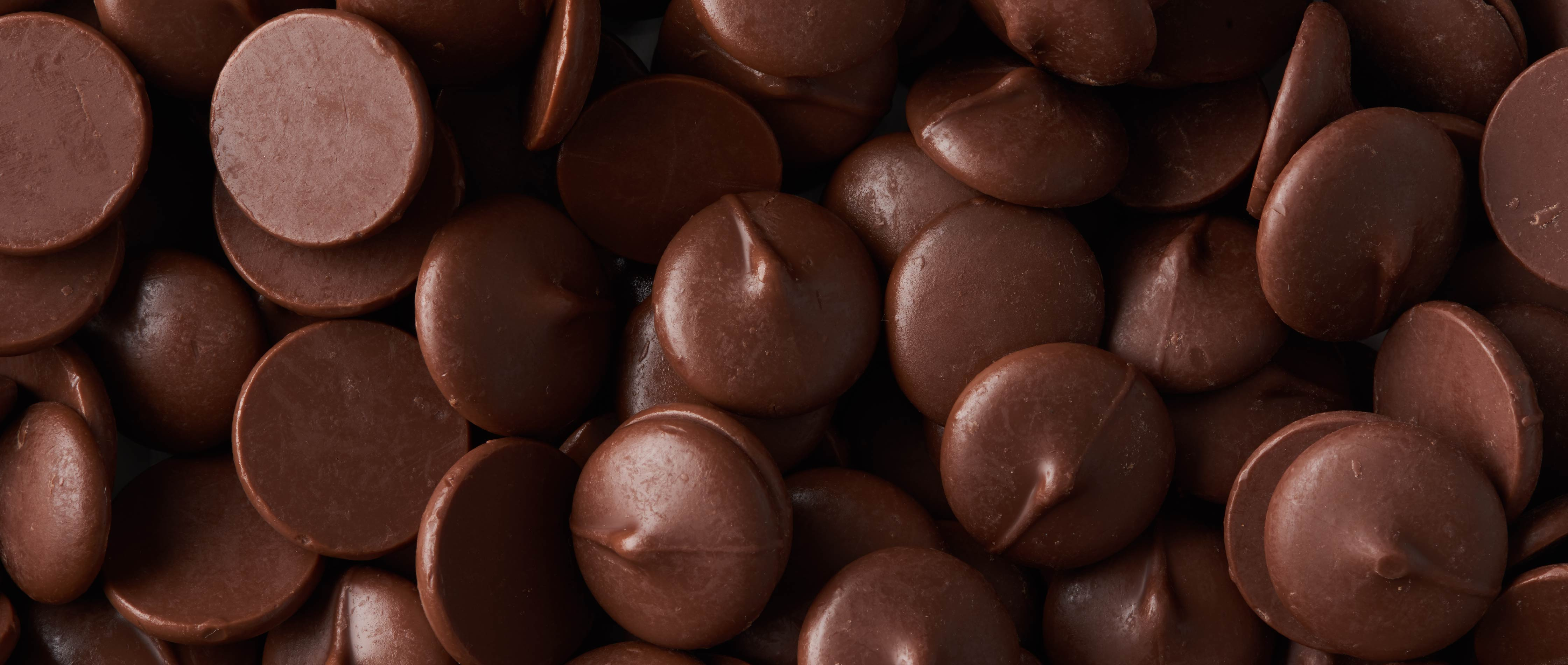Photography of chocolate buttons for Tcho chocolate