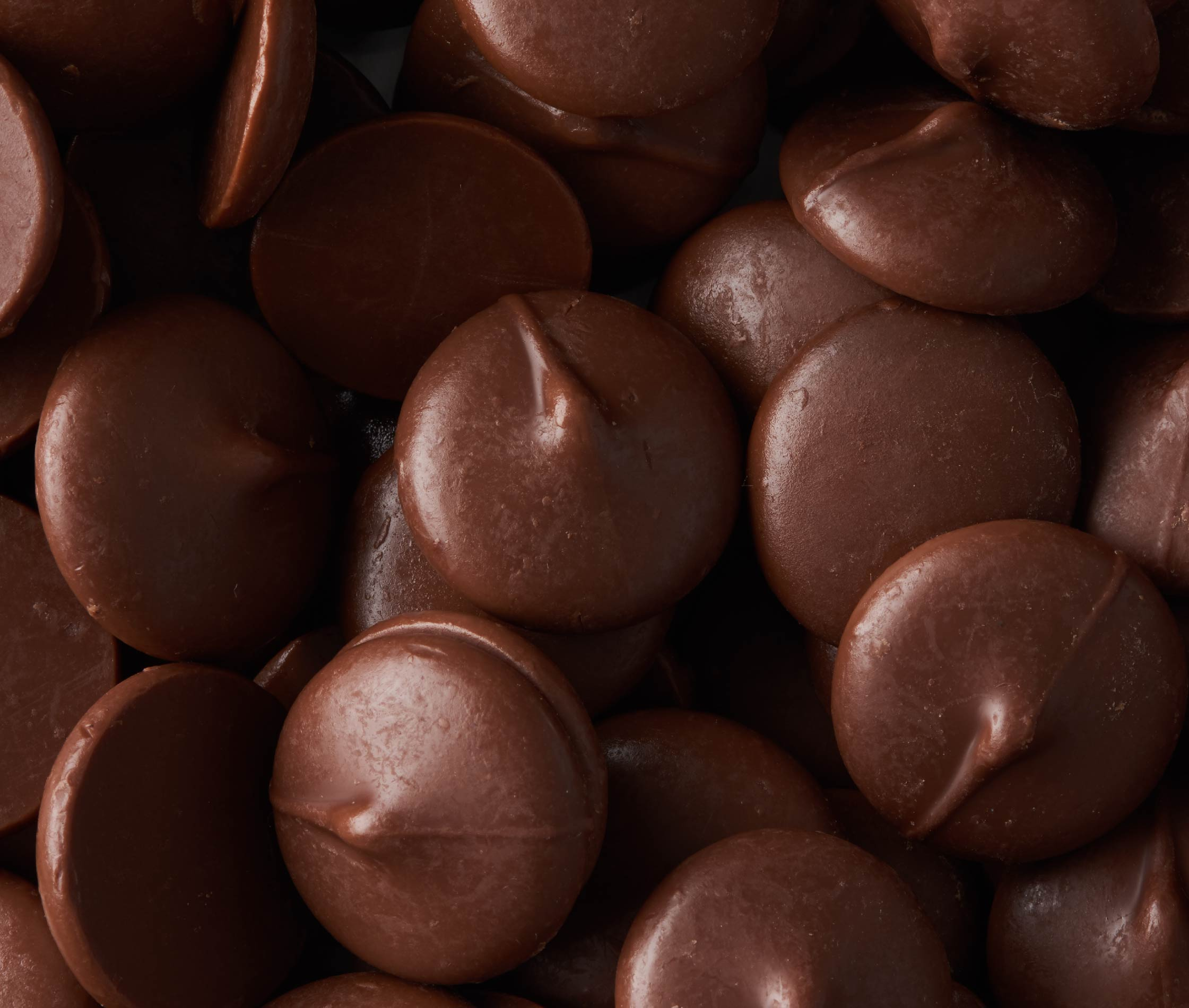 Photography of choclate buttons for Tcho chocolate