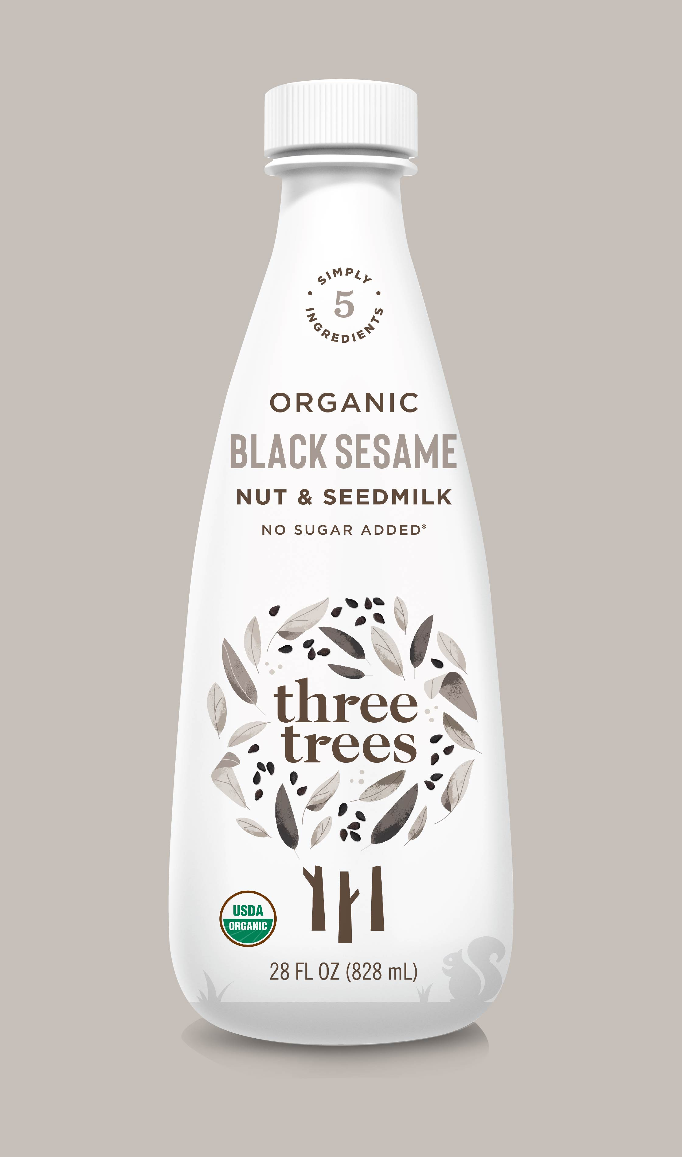Packaging Design Three Trees Almond Milk Brand experience