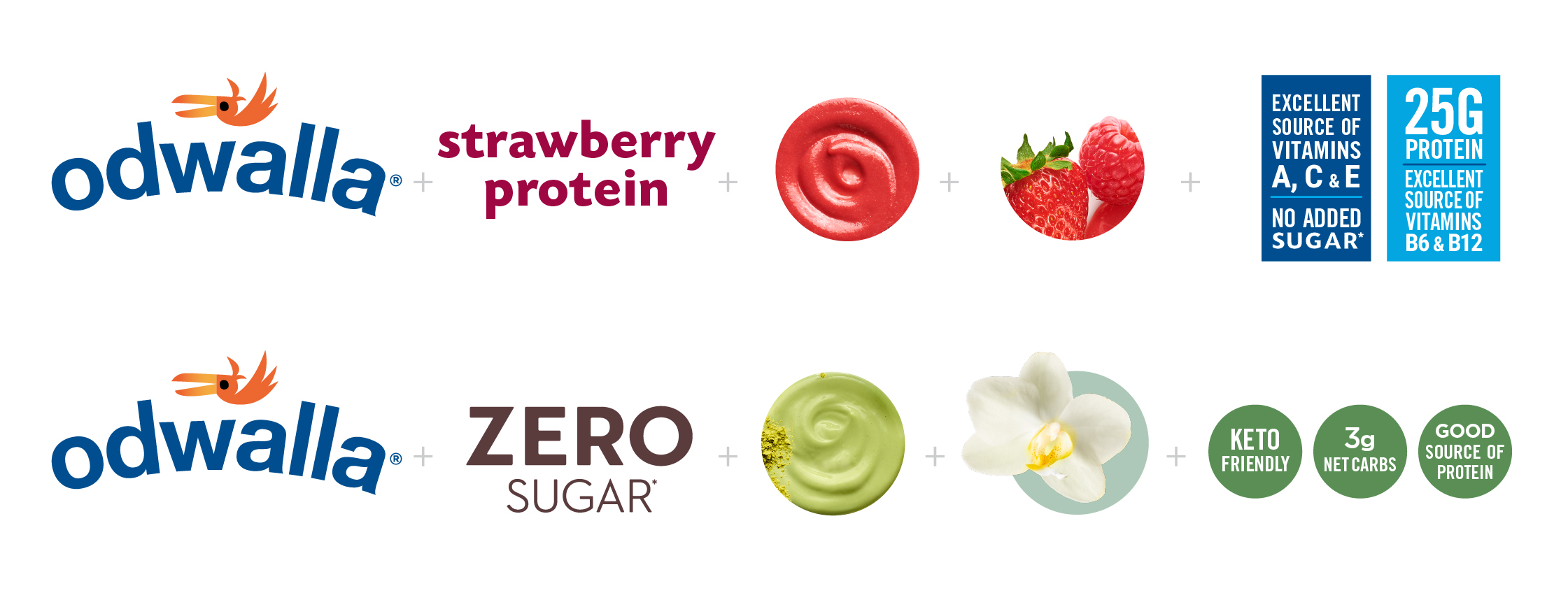 Odwalla Brand system for smootie and zero sugar