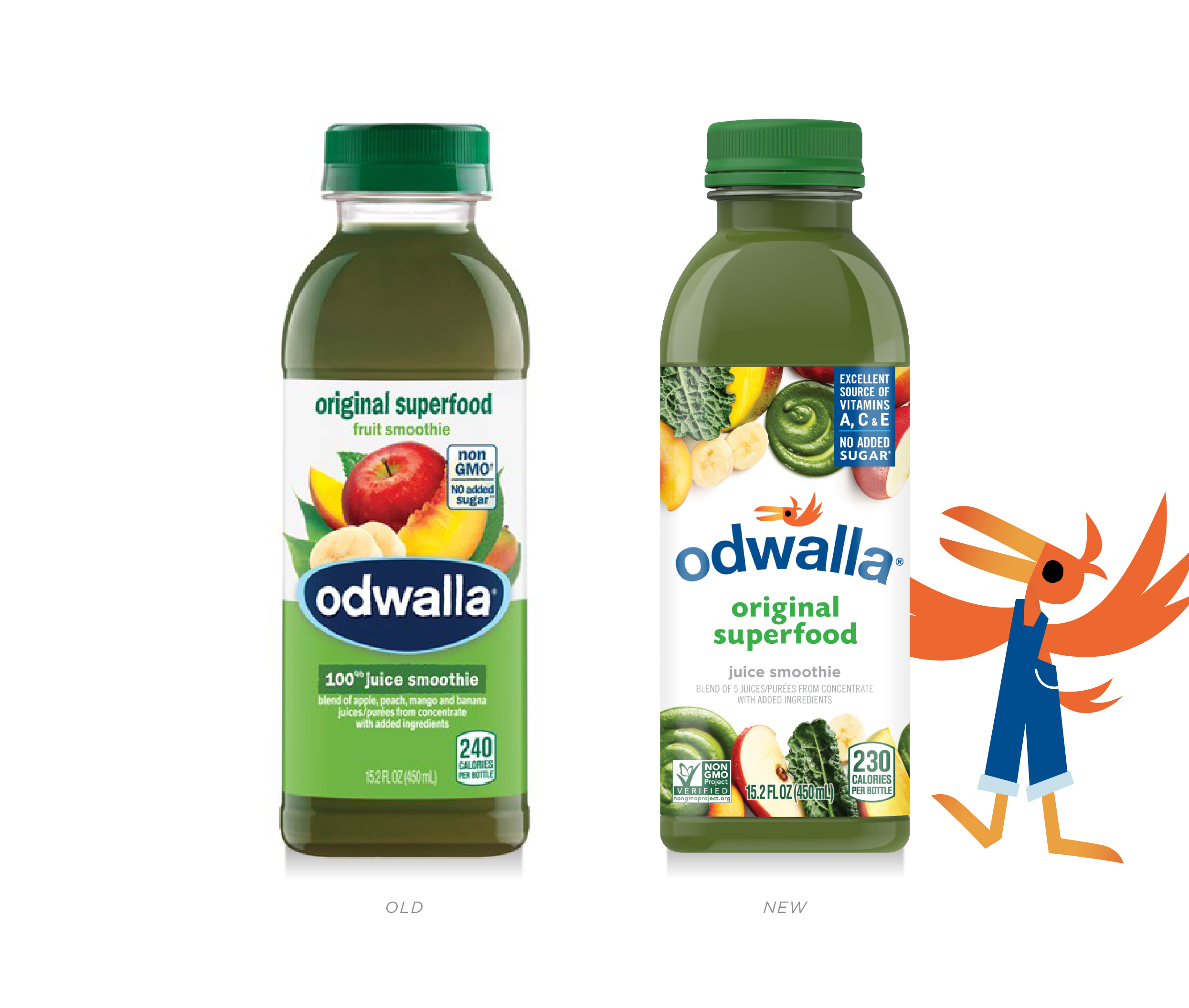 Odwalla Label transformation